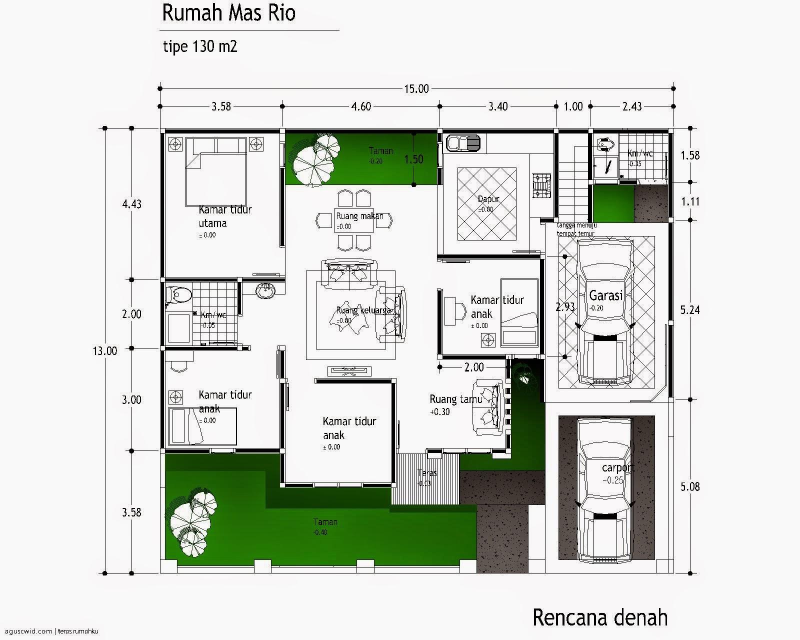 Desain Rumah Minimalis Modern 1 Lantai Sekilas Info